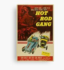Grindhouse Lounge presents: Hot Rod Gang movie poster Leinwanddruck