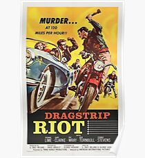 Grindhouse Lounge presents: Dragstrip Riot movie poster Poster