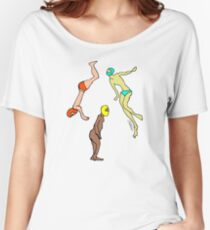 Martians Invasion Women's Relaxed Fit T-Shirt