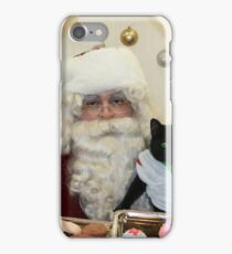 """bDenny visits with Santa """"Paws"""" at PetValue in Dec 2016 iPhone Case/Skin"""