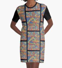 Some days are awesome in color  Graphic T-Shirt Dress