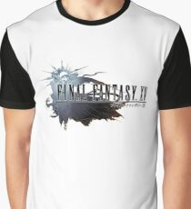 The Final Fantasy Logo Graphic T-Shirt