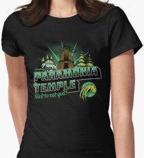 Greetings From Paramonia Temple Women's Fitted T-Shirt