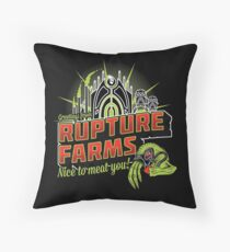 Greetings From Rupture Farms Throw Pillow