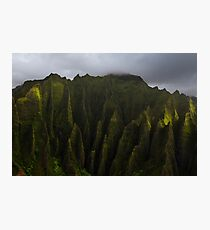 The Cathedral Cliffs Photographic Print