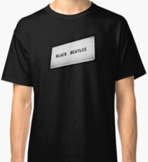 Black Beatles Classic T-Shirt
