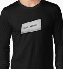 Black Beatles Long Sleeve T-Shirt