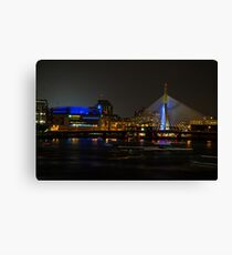 TD Garden at Night Canvas Print