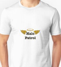 Halo Patrol black on gold 2 Unisex T-Shirt