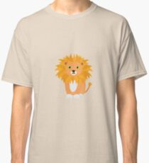 Lion with green eyes Classic T-Shirt