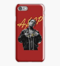 A$AP Rocky Gold Signature iPhone Case/Skin