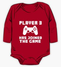 Player 3 has joined the game funny baby boy One Piece - Long Sleeve