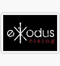 Exodus Rising Logo Merch Sticker