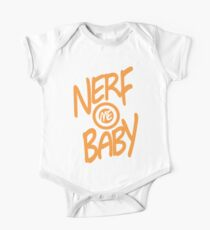 Nerf Me Baby One Piece - Short Sleeve