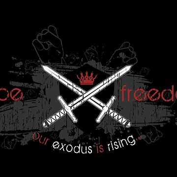 Hope and Freedom Merch by exodusrising