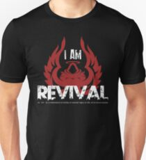 I Am Revival - Red Angel Version Unisex T-Shirt