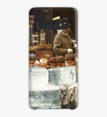 Licking blocks of ice during heat wave in New York, July, 1911 Case/Skin for Samsung Galaxy