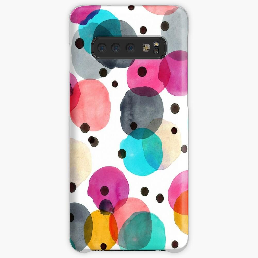 Festive Dots Case & Skin for Samsung Galaxy