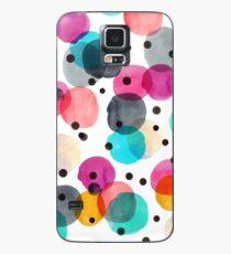 Festive Dots Case/Skin for Samsung Galaxy