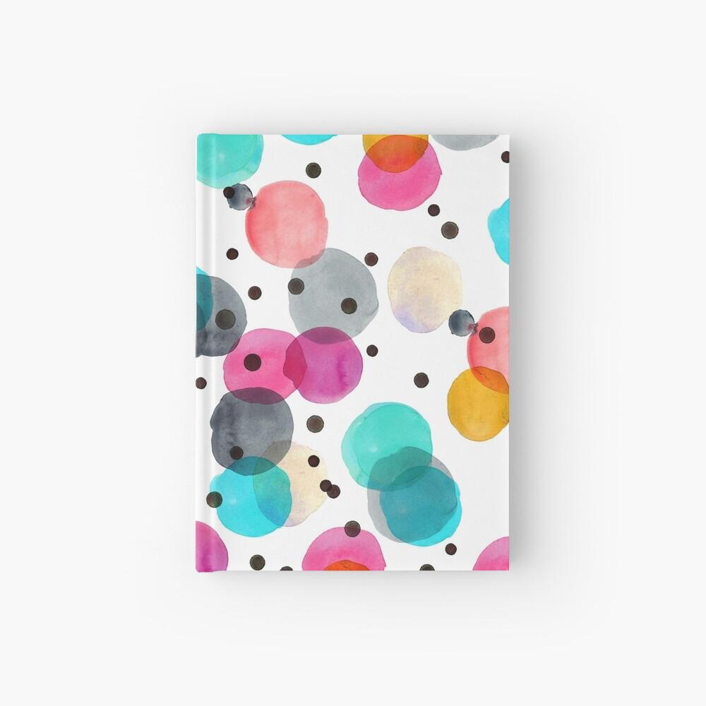 Festive Dots Hardcover Journal