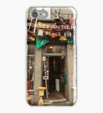 Second Hand Shop, Brussels iPhone Case/Skin