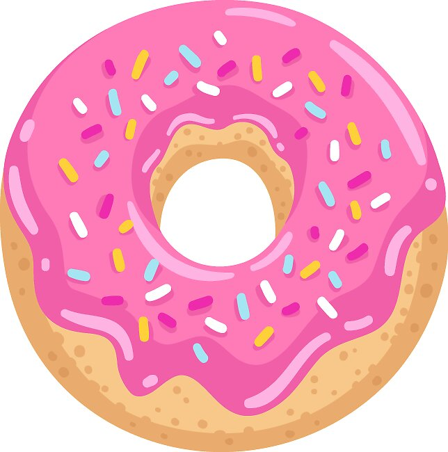 Donut sticker by southprints