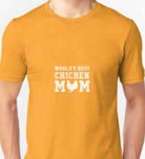 World's Best Chicken Mom Unisex T-Shirt