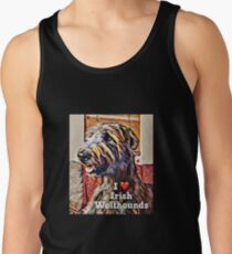 I love wolfhounds  Tank Top
