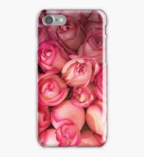Pink Rose Bouquet iPhone Case/Skin