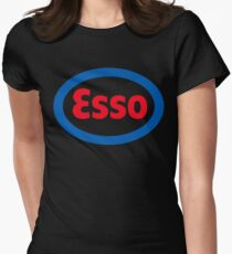 esso Women's Fitted T-Shirt