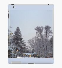 Winter Morning Snow Scene iPad Case/Skin