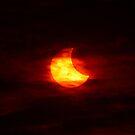 Partial Solar Eclipse (Oct 23, 2014) by Daniel Owens
