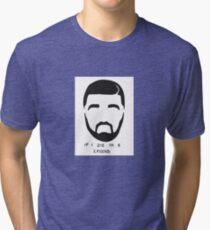 Drake Sticker Tri-blend T-Shirt