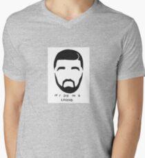 Drake Sticker Mens V-Neck T-Shirt