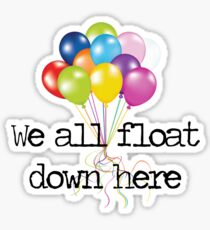 Floating Balloons, IT Sticker