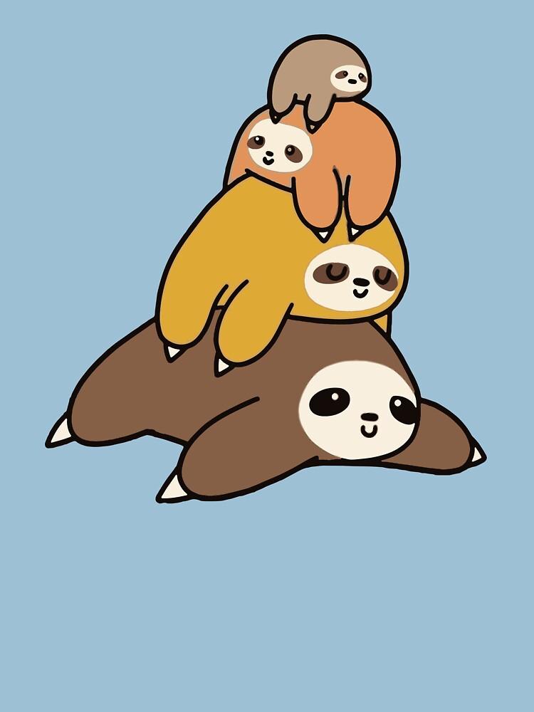 Sloth Stack by kingcomeback