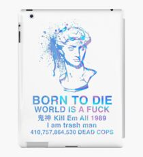 Born to Die / World is a Fuck (Holographic) iPad Case/Skin