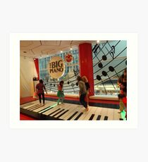 The Big Piano, FAO Schwarz Toy Store, New York City Art Print