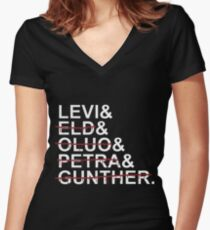 Squad Levi Women's Fitted V-Neck T-Shirt