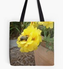 Busy Busy Little Bumble Bee Tote Bag