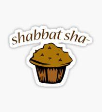 Shabbat Sha-muffin Sticker