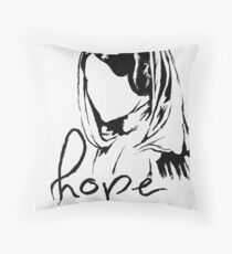 "Princess Leia ""hope"" Throw Pillow"