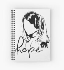 "Princess Leia ""hope"" Spiral Notebook"