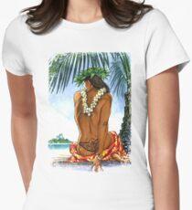Aloha Girl Womens Fitted T-Shirt