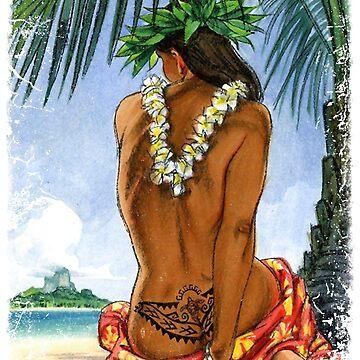 Aloha Girl by mimarumble