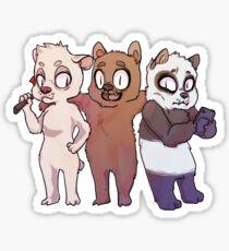 We Bare Bears Sticker
