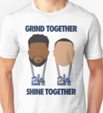 Grind Together Shine Together (Zeke and Dak) Unisex T-Shirt