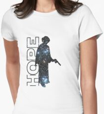 Princess Leia and Hope Womens Fitted T-Shirt