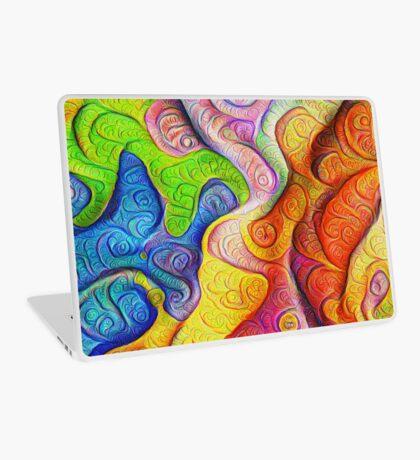Color Cracks #DeepDream Laptop Skin