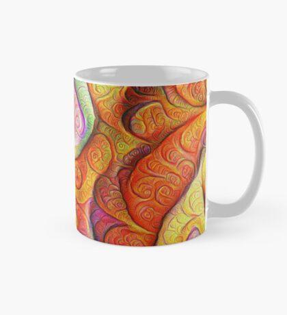 Color Cracks #DeepDream Mug